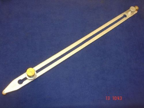 Long Bar Scriber for Vinyl Flooring Tool 475mm Brass Rollers